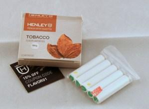 henley e-cigarette review cartridge image